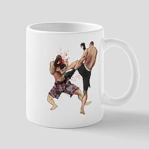 Muay Thai Kick Mug