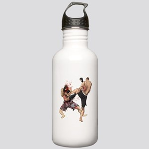 Muay Thai Kick Water Bottle