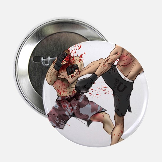 "Muay Thai Kick 2.25"" Button"