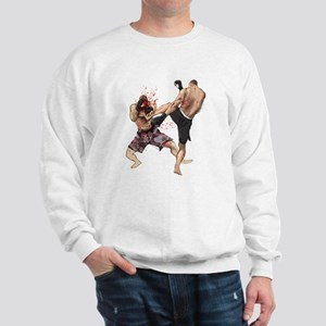 Muay Thai Kick Sweatshirt
