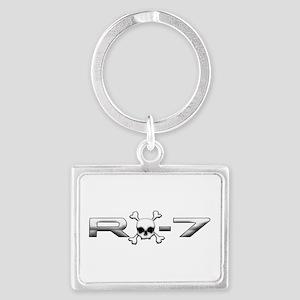 RX-7 Skull Landscape Keychain