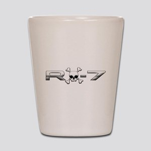 RX-7 Skull Shot Glass