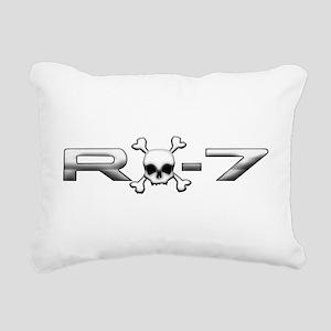 RX-7 Skull Rectangular Canvas Pillow