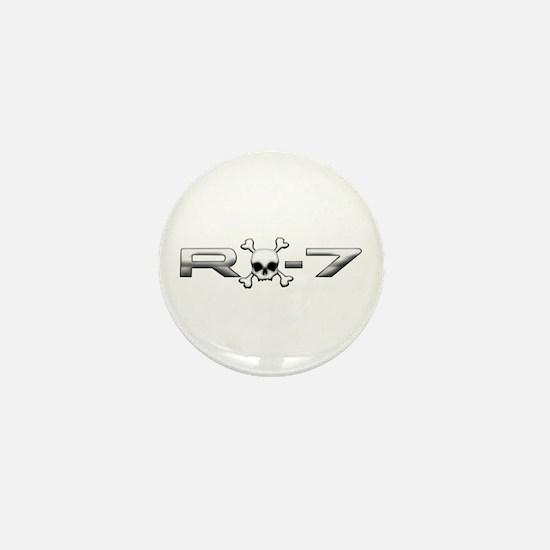 RX-7 Skull Mini Button