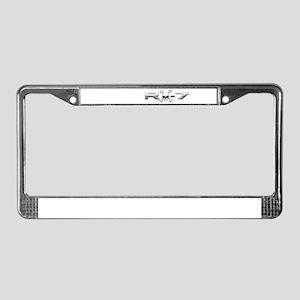 RX-7 Skull License Plate Frame