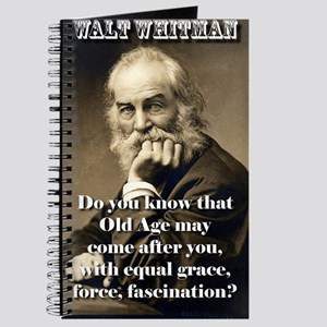Do You Know Old Age - Whitman Journal