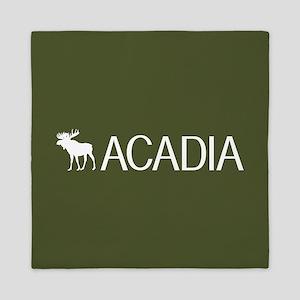 Acadia Moose Queen Duvet