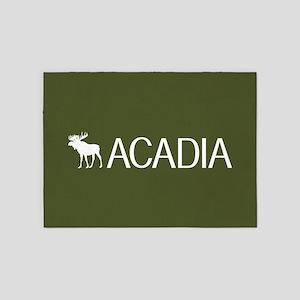 Acadia Moose 5'x7'Area Rug