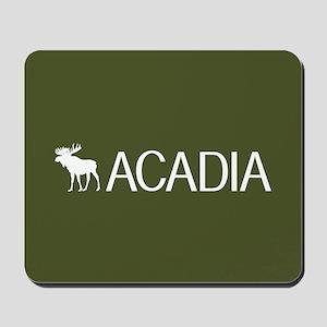 Acadia Moose Mousepad