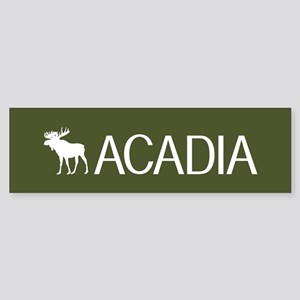Acadia Moose Sticker (Bumper)