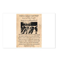 Dalton Gangs Last Ride Postcards (Package of 8)