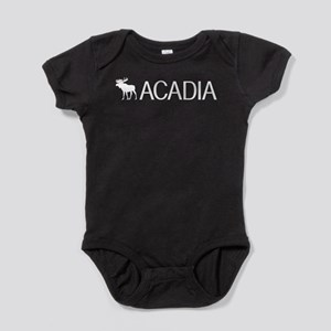 Acadia Moose Baby Bodysuit