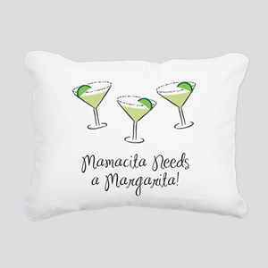2-MamasitaMargarita Rectangular Canvas Pillow