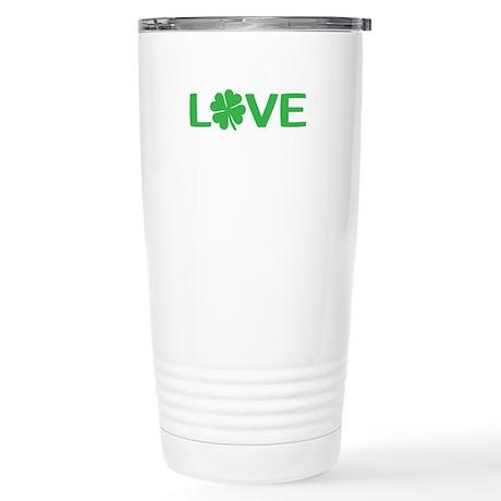 Shamrock Love Travel Mug