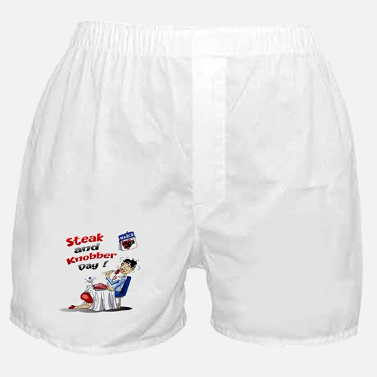 Steak and Knobber Day Logo Boxer Shorts