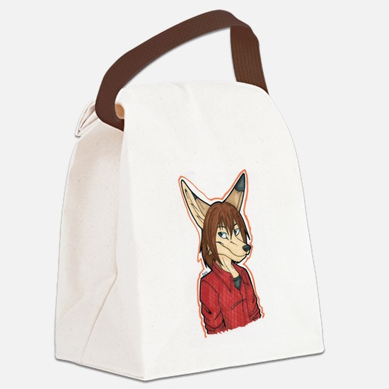 Slyface Canvas Lunch Bag