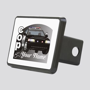 Custom Personalized Cop Rectangular Hitch Cover