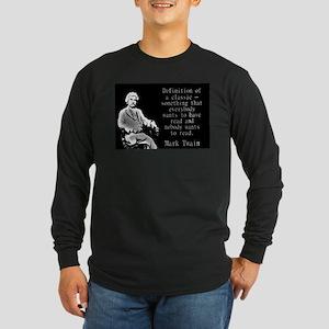 Definition Of A Classic - Twain Long Sleeve T-Shir