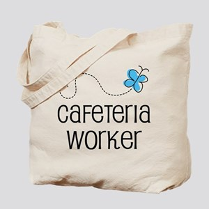 Cute Cafeteria worker Tote Bag