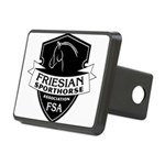 Friesian Sporthorse Logo Rectangular Hitch Cover