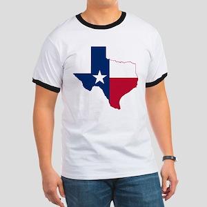 Texas Flag Map - Ringer T