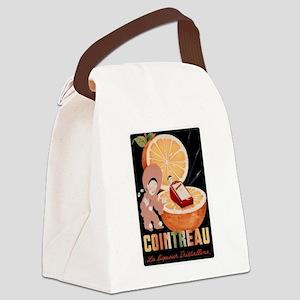 Orange Cointreau Liqueur Canvas Lunch Bag
