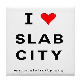 Slab City Tile Coaster
