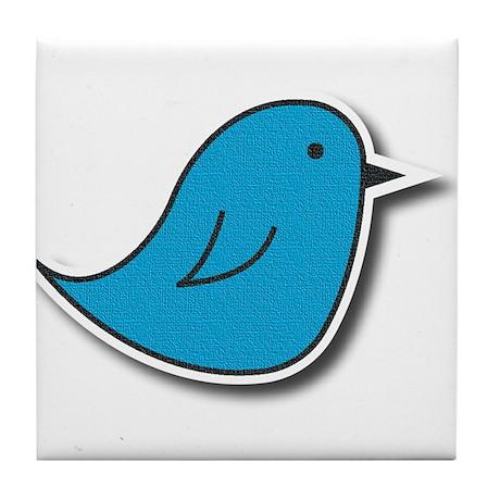 Vox Blue Bird Tile Coaster