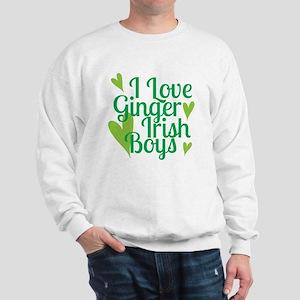 Ginger Irish Boys Sweatshirt