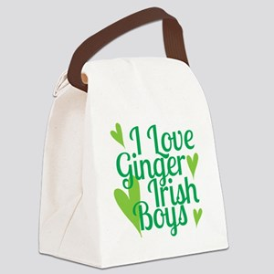 Ginger Irish Boys Canvas Lunch Bag