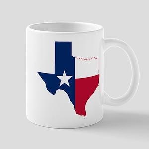 Texas Flag Map Mug
