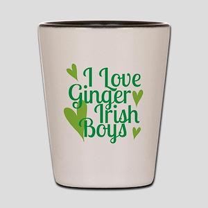 Ginger Irish Boys Shot Glass