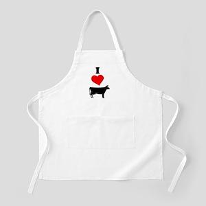 I heart Cow Apron