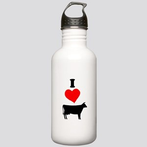 I heart Cow Water Bottle