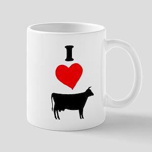 I heart Cow Mug