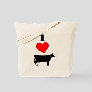 I heart Cow Tote Bag