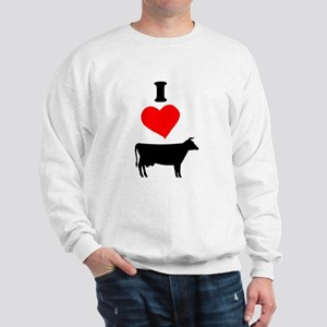 I heart Cow Sweatshirt
