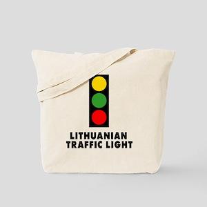 Lithuanian Traffic Light Tote Bag