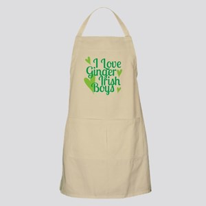 Ginger Irish Boys Apron