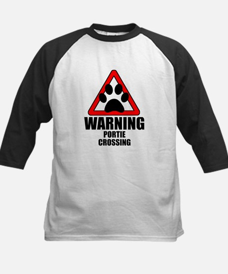 Portie Warning Baseball Jersey