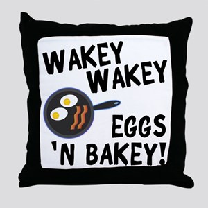Bacon And Eggs Throw Pillow