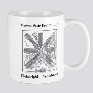 Eastern State Penitentiary Map Mug