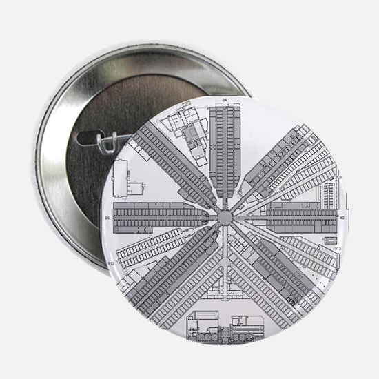 """Eastern State Penitentiary Map 2.25"""" Button"""