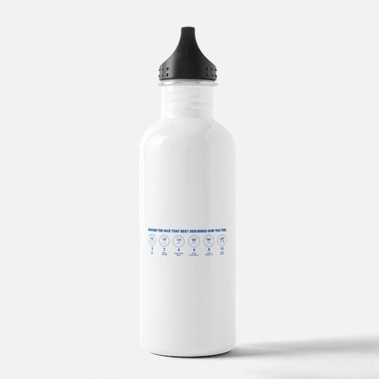 Unique Pain is Water Bottle