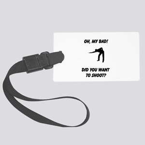 Want to shoot Luggage Tag