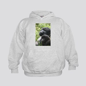 Mountain Gorilla Father Son Hoodie