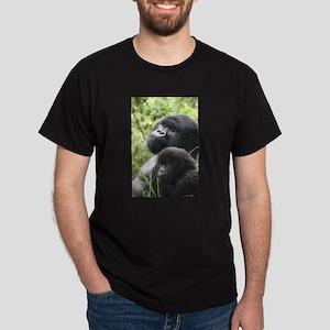 Mountain Gorilla Father Son T-Shirt