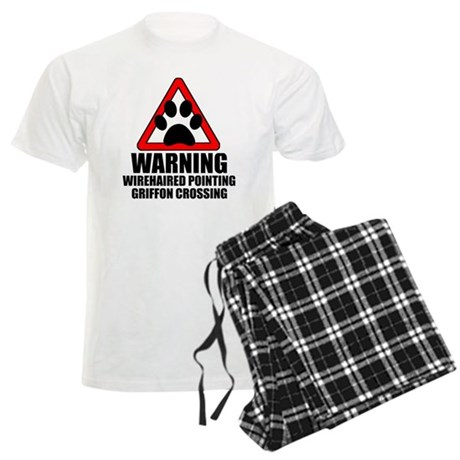 Wirehaired Pointing Griffon Warning Pajamas