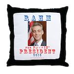 Rahm 2016 Throw Pillow
