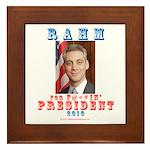 Rahm 2016 Framed Tile